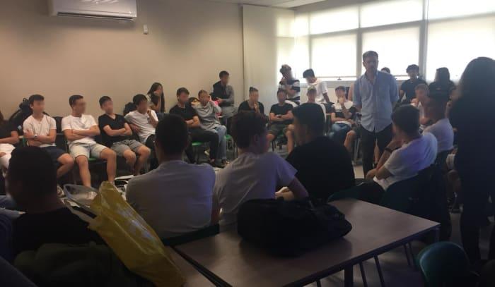 לראשונה מאז אישור חוק שוברים שתיקה, נציגי הארגון נפגשו עם תלמידים